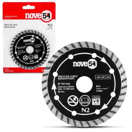 Disco-de-Corte-Diamantado-NOVE54-105-x-20-mm-N2-Turbo-Seco-connectparts---1-