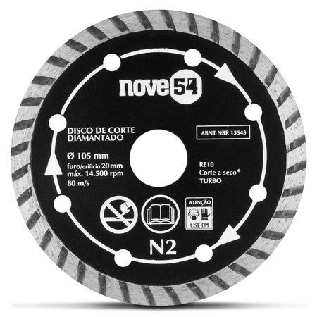 Disco-de-Corte-Diamantado-NOVE54-105-x-20-mm-N2-Turbo-Seco-connectparts---2-
