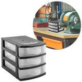 Organizador-Plastico-Mini-3-Gavetas-Vonder-Preto-e-Transparente-connectparts---1-