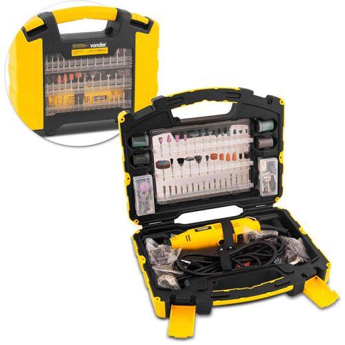 Kit-Microretifica-Caixa-com-452-Acessorios-Vonder-ARV453-220V-Amarelo-e-Preto-CONNECTPARTS---1-