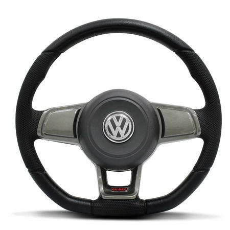 Volante-Esportivo-Golf-GTI-MK7-Base-Reta-Preto-Grafite-Cubo-Gol-Parati-Saveiro-Santana-Fox-91-a-13-connectparts--1-