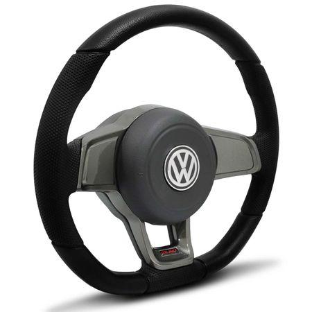 Volante-Esportivo-Golf-GTI-MK7-Base-Reta-Preto-Grafite-Cubo-Gol-Parati-Saveiro-Santana-Fox-91-a-13-connectparts--2-