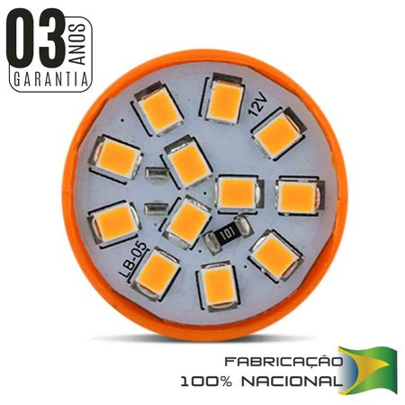 Lampada-Led-T20-2-Polos-12V-Ambar-connectparts---2-