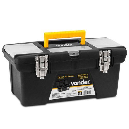 Caixa-Plastica-Organizadora-para-Ferramentes-Vonder-CPV160-Preta-connectparts---1-