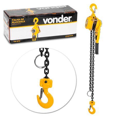 Talha-com-Alavanca-Vonder-TA075-075-Toneladas-15m-Levantar-Arrastar-Puxar-Cargas-connectparts---1-