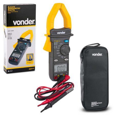 Alicate-Amperimetro-Digital-Vonder-AAV4200-600V-Medicao-Corrente-Tensao-Resistencia-connectparts---1-