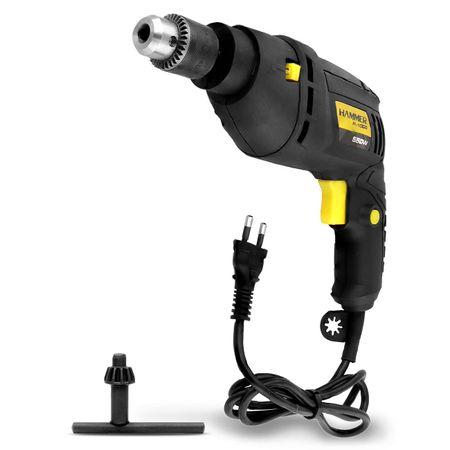 Furadeira-de-Impacto-Mandril-Hammer-38-Polegadas-220V-2.800-RPM-550W-Preta-e-Amarelo-FI-1000-connectparts---1-