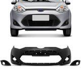 Para-Choque-Dianteiro-Fiesta-Hatch-Sedan-2011-2012-2013-2014-Preto-Liso-com-Furo-Milha-CONNECTPARTS---1-