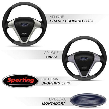 Volante-Ford-Titanium-Couro-Costura-Diamante-Grafite-Superior-Inferior-Aplique-Black-Piano-Aco-Escov-connectparts--2-