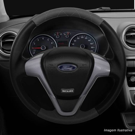 Volante-Ford-Titanium-Couro-Costura-Diamante-Grafite-Superior-Inferior-Aplique-Black-Piano-Aco-Escov-connectparts--6-