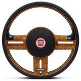 Volante-Shutt-Surf-Madeira-GTR-Apliques-Preto--Madeira-Carbono---Cubo-Fiat-147-1978-a-1987-connect-parts--1-
