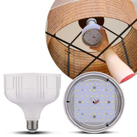 Lampada-Led-Bulbo-55W-E27-Branco-Frio-6000K-Bivolt-48-Leds-Rosca-Branca-Outlet-connectparts---2-