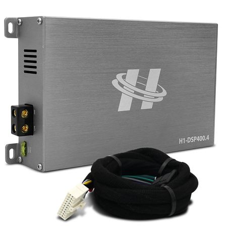 Kit-Modulo-Amplificador-Hurricane-H1-DSP400.4---Chicote-Volkswagen-Original-Plug-And-Play-connectparts---1-