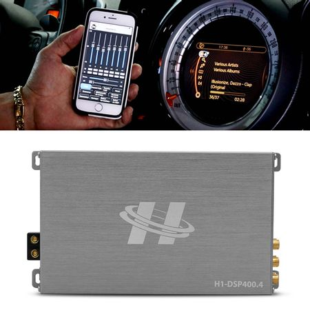 Kit-Modulo-Amplificador-Hurricane-H1-DSP400.4---Chicote-Volkswagen-Original-Plug-And-Play-connectparts---2-