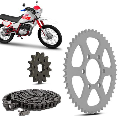 Kit-Relacao-Transmissao-Yamaha-DT180-1992-A-1992-Y00040X-Xtreme-connectparts---5-