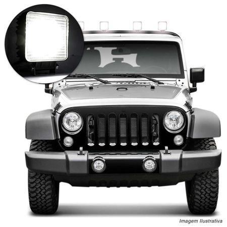 Farol-de-Milha-Quadrado-Universal-9-LEDs-6000K-27W-Branco-Carro-Caminhao-Jeep-connectparts---4-