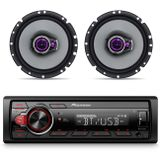 Kit-MP3-Player-Pioneer-MVH-S218BT-Receiver-Bluetooth-USB---Alto-Falante-Pioneer-6-100W-RMS-4-Ohms-connectparts---1-