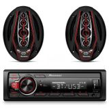 Kit-MP3-Player-Pioneer-MVH-S218BT-Receiver-Bluetooth-USB---Alto-Falante-Bicho-Papao-6x9-350W-RMS-connectparts---1-