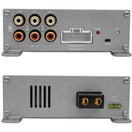 Kit-Modulo-Amplificador-Hurricane-H1-DSP400.4---Chicote-Mitsubishi-Original-Plug-And-Play-connectparts---3-