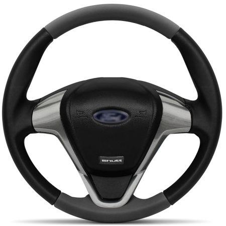 Volante-Ford-Titanium-Couro-Grafite-Superior-Bordada-Shutt-Inferior-Aplique-Aco-Escovado-Black-Piano-connectparts--1-