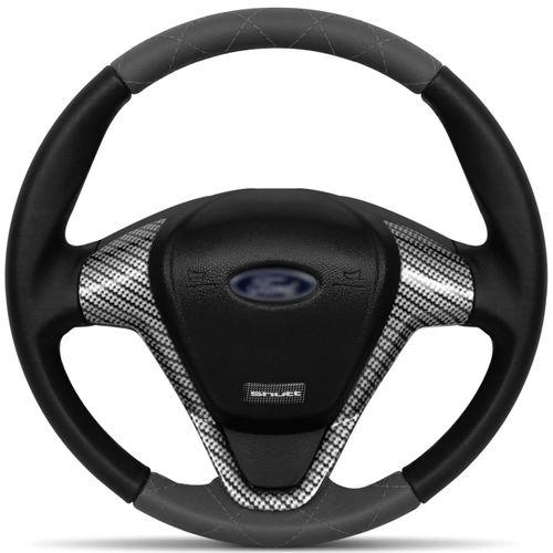 Volante-Ford-Titanium-Couro-Costura-Diamante-Grafite-Superior-Inferior-Aplique-Carbono-Grafite-connectparts--1-