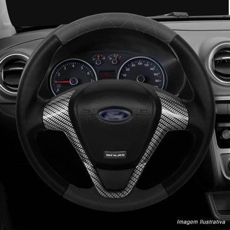 Volante-Ford-Titanium-Couro-Costura-Diamante-Grafite-Superior-Inferior-Aplique-Carbono-Grafite-connectparts--6-