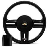 Volante-Shutt-Rallye-Black-Piano-Xtreme-Aplique-Preto-e-Carbono---Cubo-Opala-Caravan-connect-parts--1-