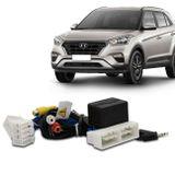 Desbloqueio-de-Tela-Hyundai-Creta-com-Entrada-AV-e-Comando-de-TV-Volante-Plug-And-Play-connectparts