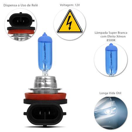 Kit-20-Lampadas-Super-Branca-H9-8500K-55W-12V-Efeito-Xenon-connectparts---3-