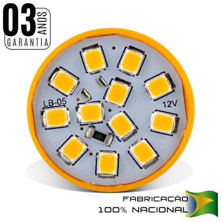 Kit-4-Lampadas-12-LEDs-1-Polo-Trava-Reta-Luz-Laranja-Pisca-Seta-connect-parts-2-