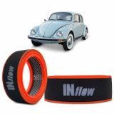 Filtro-De-Ar-Esportivo-Inbox-Circular-Hpf4004-Inflow-VwGurgel-Preto-E-Vermelho-Com-Logomarca-Branca-connectparts---01-