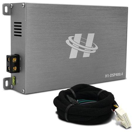 Kit-Modulo-Amplificador-Hurricane-H1-DSP400.4---Chicote-Hyundai-Original-Plug-And-Play-connectparts---1-