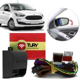 Modulo-Retrovisor-Eletrico-Ford-Ka-Ka--2019-Rebatimento-Tilt-Down-Tury-Park-1500-Bx-Plug---Play-connectparts---1-