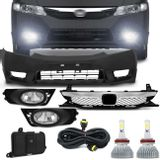 Kit-Transformacao-New-Civic-2006-a-2008-para-2009-a-2011---Par-Super-LED-Headlight-H11-6000K-6400LM-Connect-Parts--1-