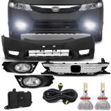 Kit-Transformacao-New-Civic-2006-a-2011---Par-Super-LED-3D-Headlight-H11-6000K-9000LM-Connect-Parts--1-