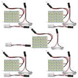 Kit-5-Placas-de-LED-24-Pontos-Adaptadores-Pingo-T10-Torpedo-5W-12V-Luz-Interna-Teto-Porta-Malas-connectparts---1-