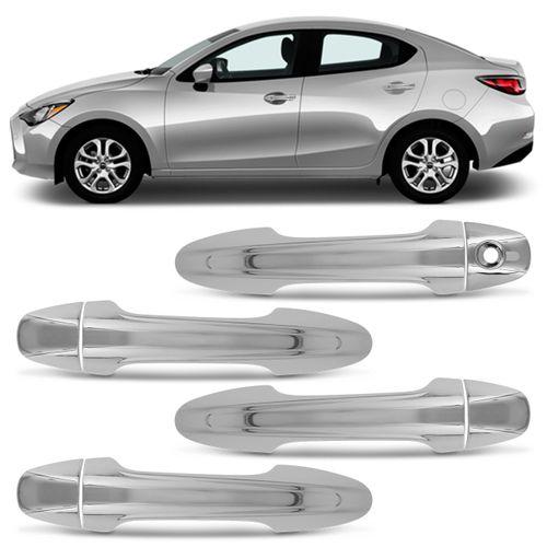 Kit-Aplique-de-Macaneta-Cromado-Toyota-Yaris-Sedan-2018-Sensor-4-Portas-connectparts--1-
