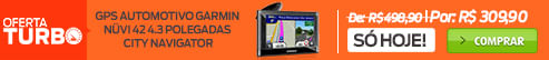 oferta-turbo GPS Automotivo Garmin Nüvi 42 4.3 Polegadas City Navigator