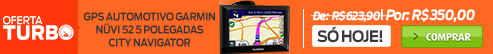 oferta-turbo GPS Automotivo Garmin